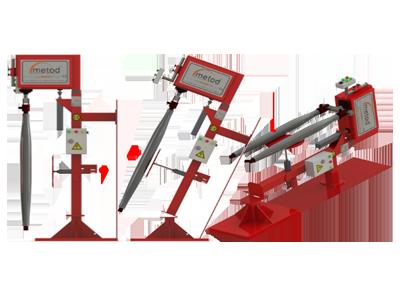Convertible Type Scraping Machine (Horizontal & Vertical)